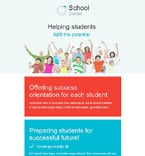 Education Newsletter  Template 55469
