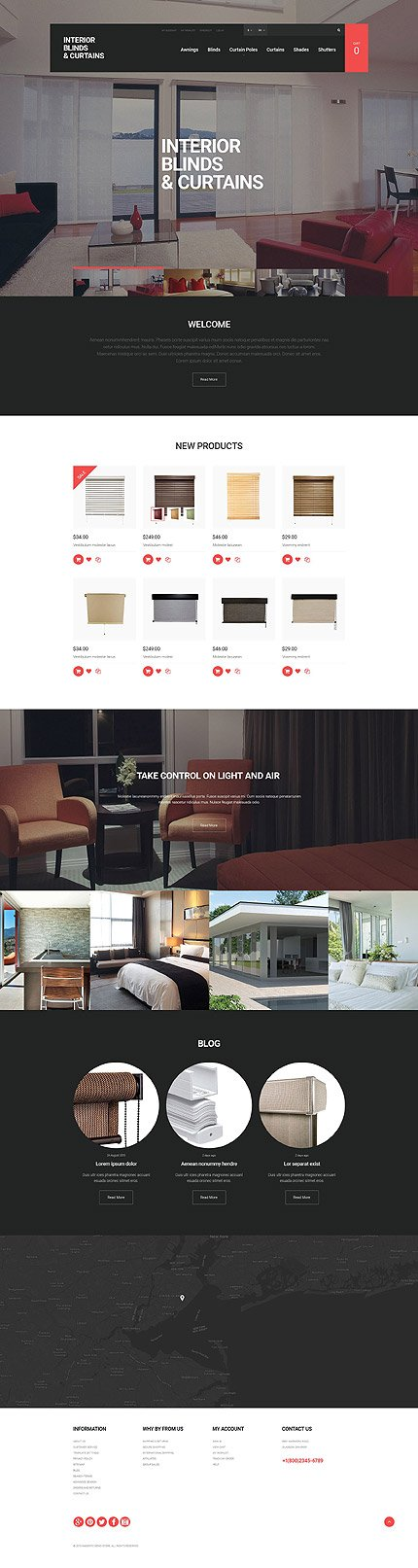 Magento Theme/Template 55470 Main Page Screenshot