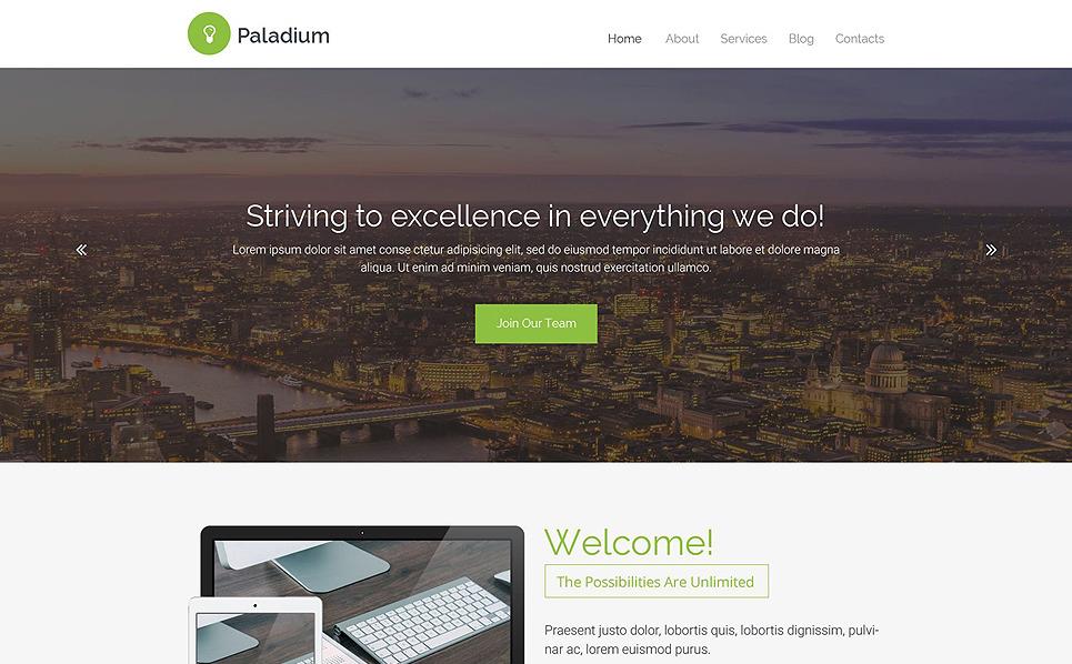 Responsywny szablon strony www #55475 na temat: biznes i usługi New Screenshots BIG