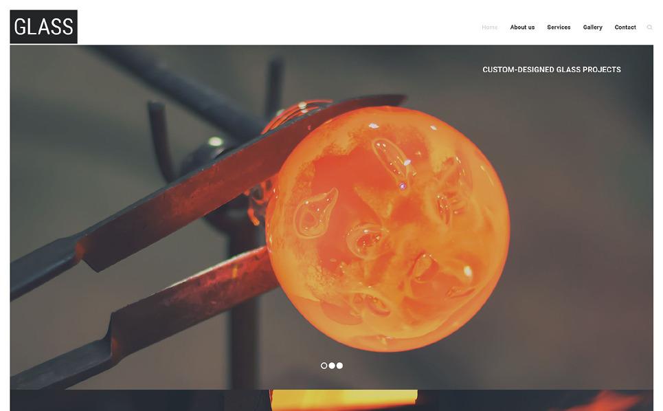 Modèle Web adaptatif  pour site industriel  New Screenshots BIG