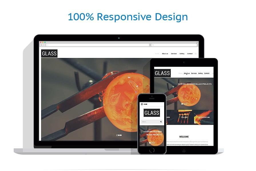 Modèles HTML5 Industriel #55476