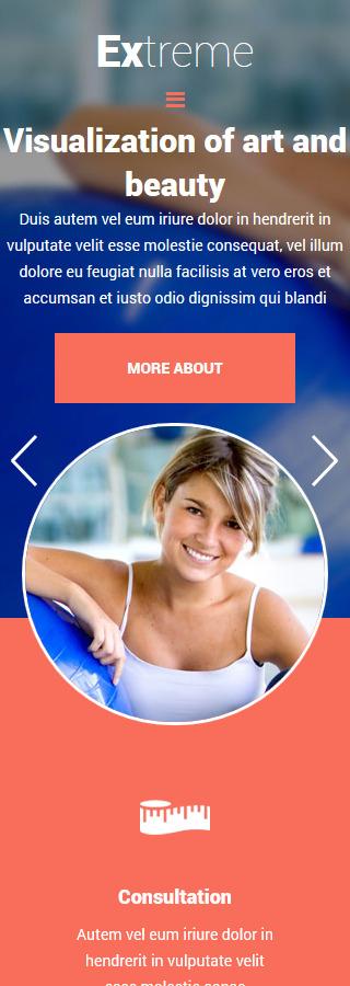 Joomla Theme/Template 55480 Main Page Screenshot