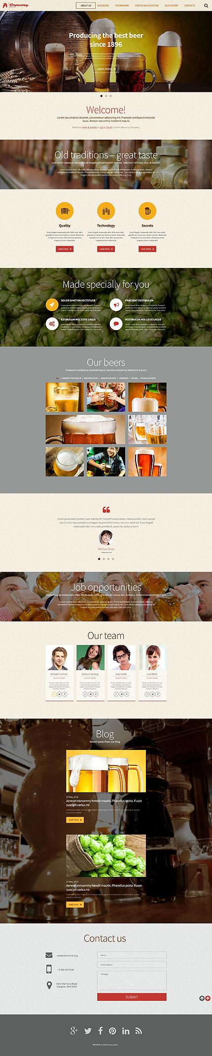 WordPress Theme/Template 55486 Main Page Screenshot