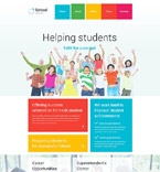 Education Joomla  Template 55489