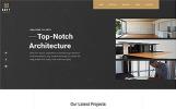 """Arty - Architecture Multipage Creative Bootstrap HTML5"" modèle web adaptatif"