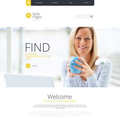 Business centre site template business directory website template 55443 website templates accmission Gallery