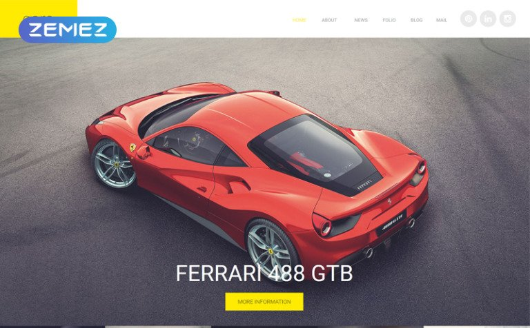 Cars Joomla Template