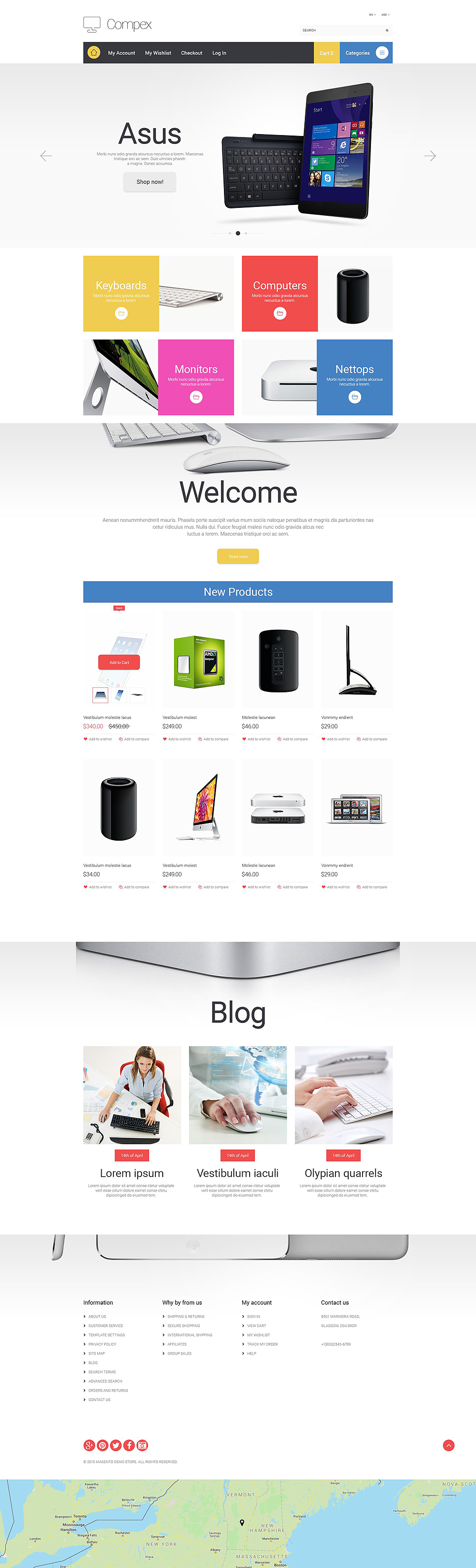Electronic Devices Magento Theme