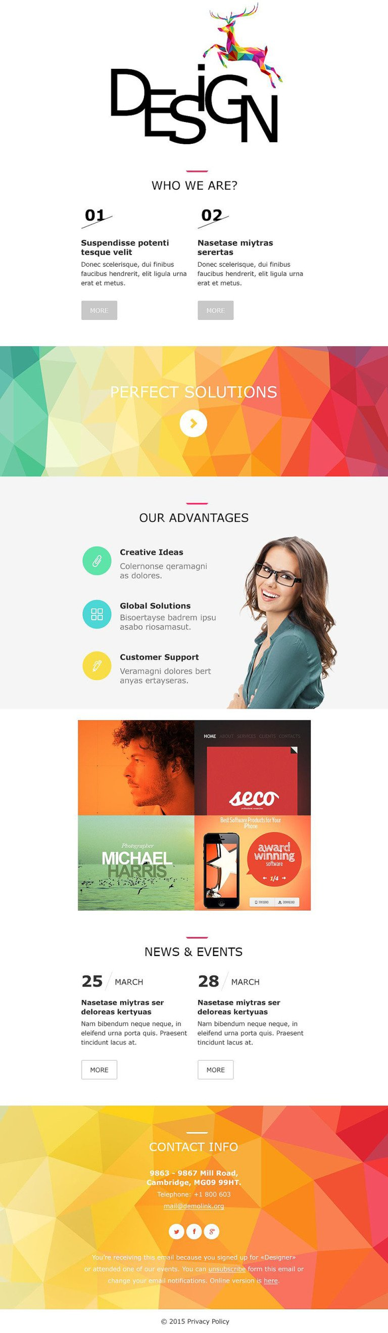 Design Studio Responsive Newsletter Template New Screenshots BIG