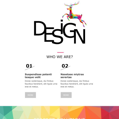 Design Studio Responsive Newsletter Template #55479