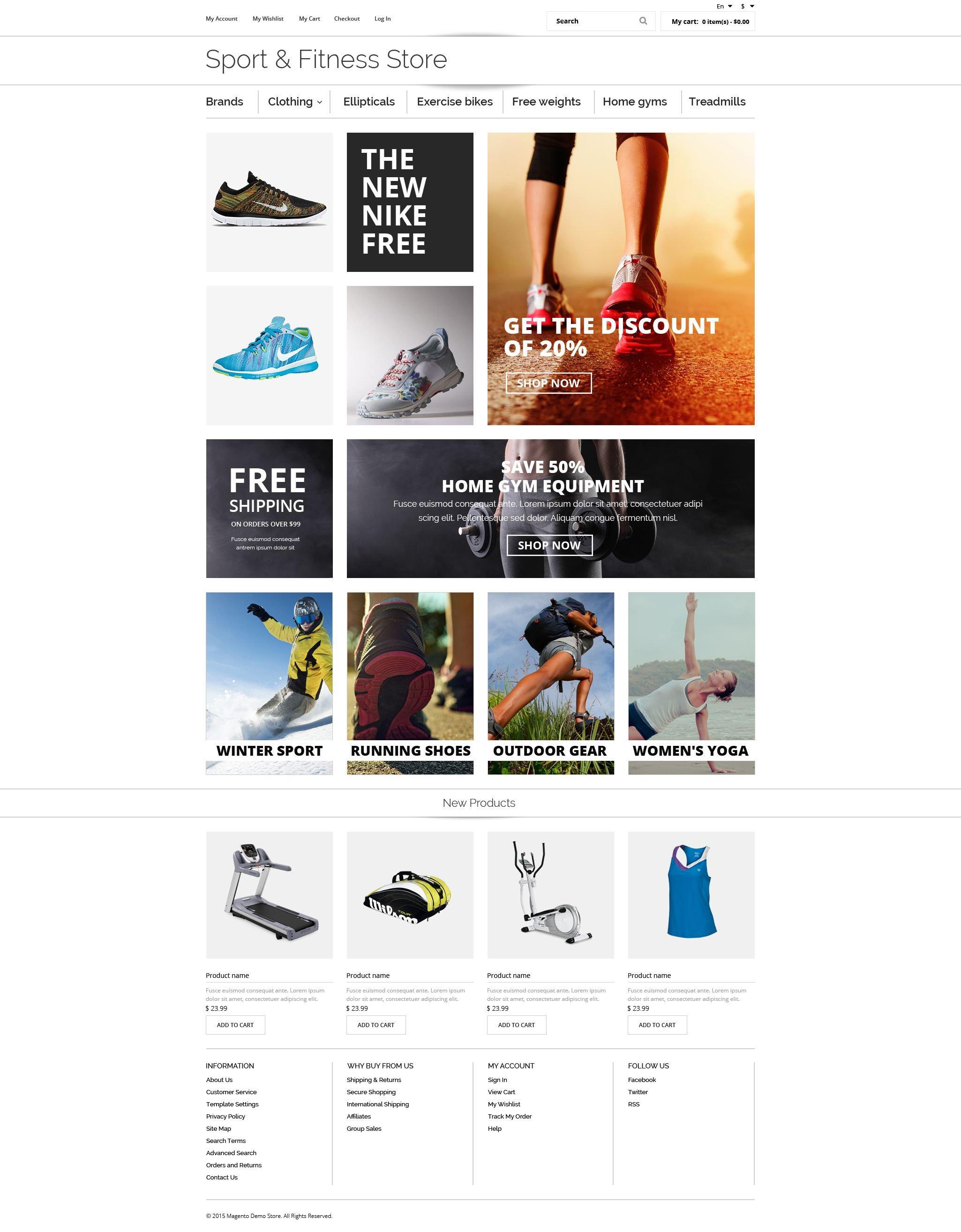 Fitness Oscommerce #55461 - Ekran resmi