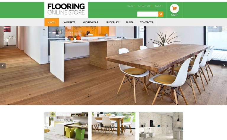 Flooring Online Store PrestaShop Theme
