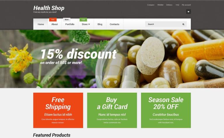 Health Shop WooCommerce Theme