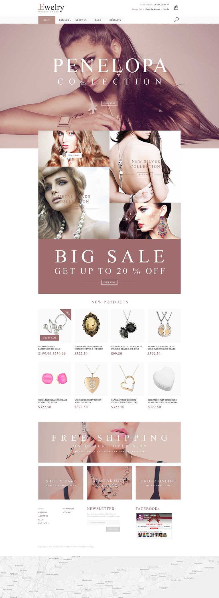 Jewelry House VirtueMart Template New Screenshots BIG