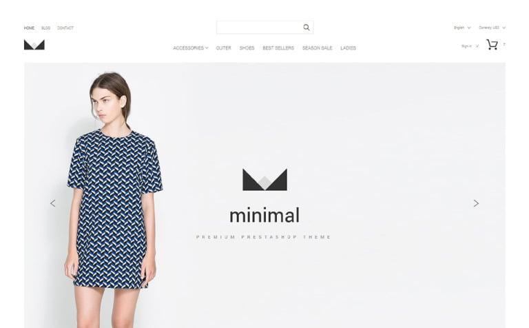 Minimal PrestaShop Theme