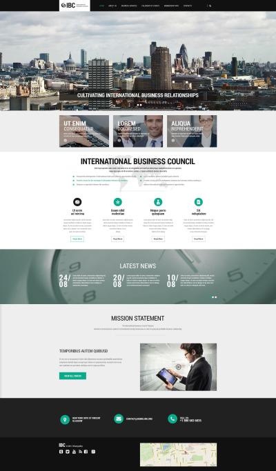 Business Responsive Template Siti Web