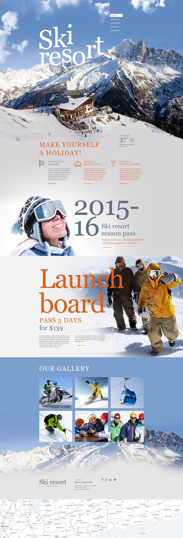 Muse Template für Skilauf #55477