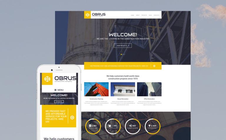 Obrus WordPress Theme