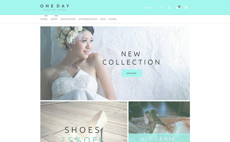 One Day PrestaShop Theme