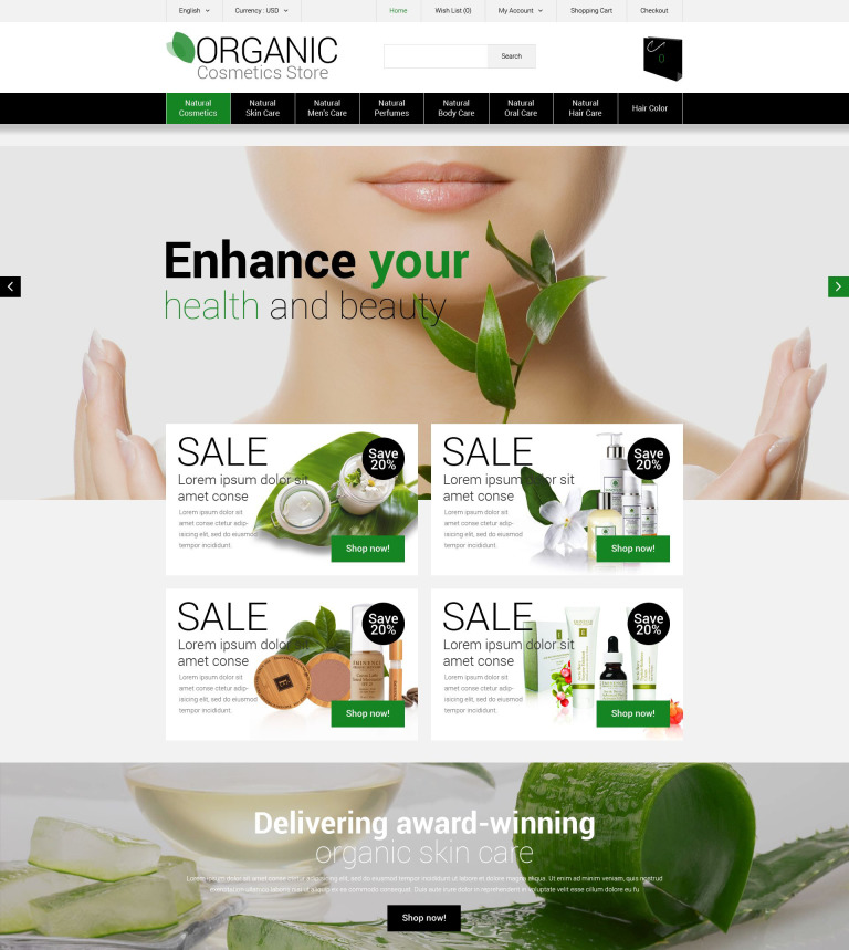 9 Organic Website Themes & Templates