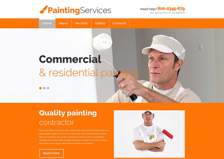 Painting Company Responsive