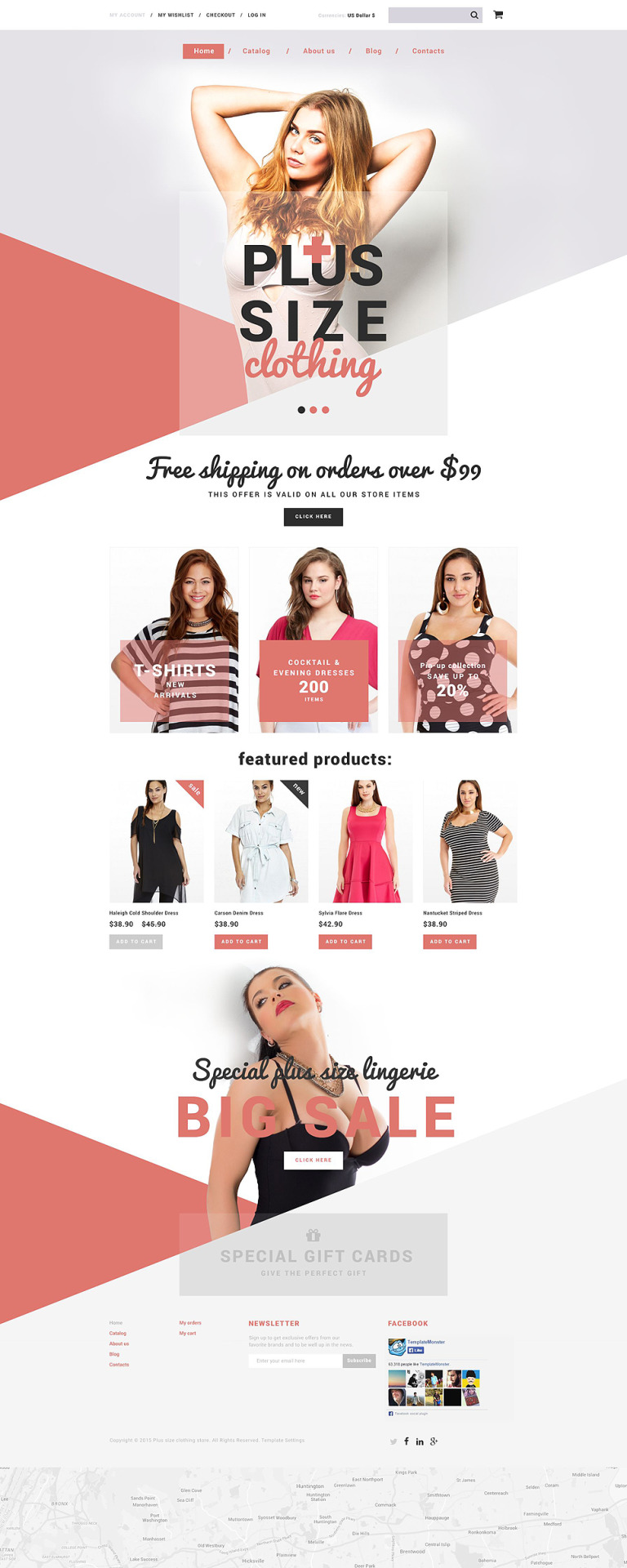Plus Size Clothing Shopify Theme New Screenshots BIG