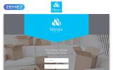 Responsive Movex - Moving Company Modern HTML Açılış Sayfası Şablonu