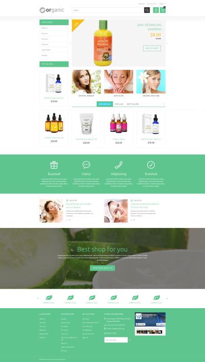 Responsywny szablon PrestaShop #55423 na temat: sklep kosmetyki