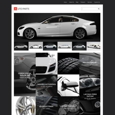 Tema de WordPress #55453 para Sitio de Ruedas y neumáticos