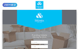 "Template di Landing Page Responsive #55432 ""Movex - Moving Company Modern HTML"""