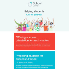 colleges universities newsletter templates templatemonster