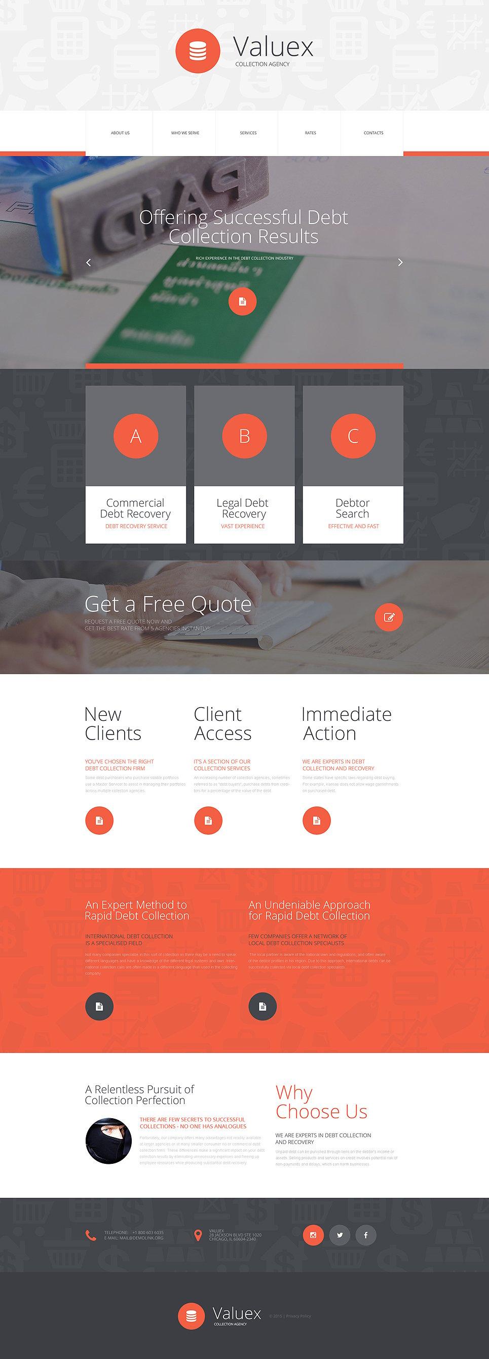 tax advisor website template