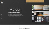 "Website Vorlage namens ""Arty - Architecture Multipage Creative Bootstrap HTML5"""