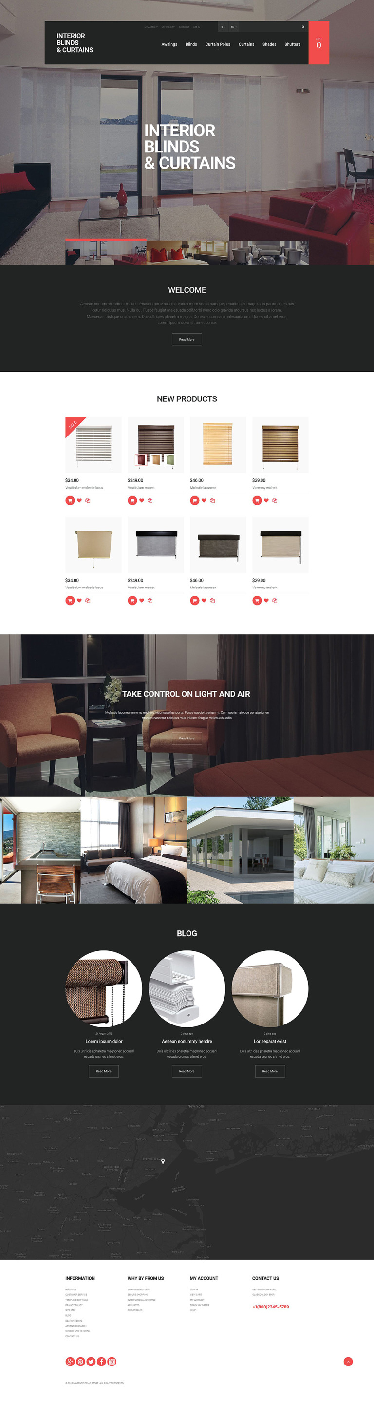 Window Panels Magento Theme New Screenshots BIG