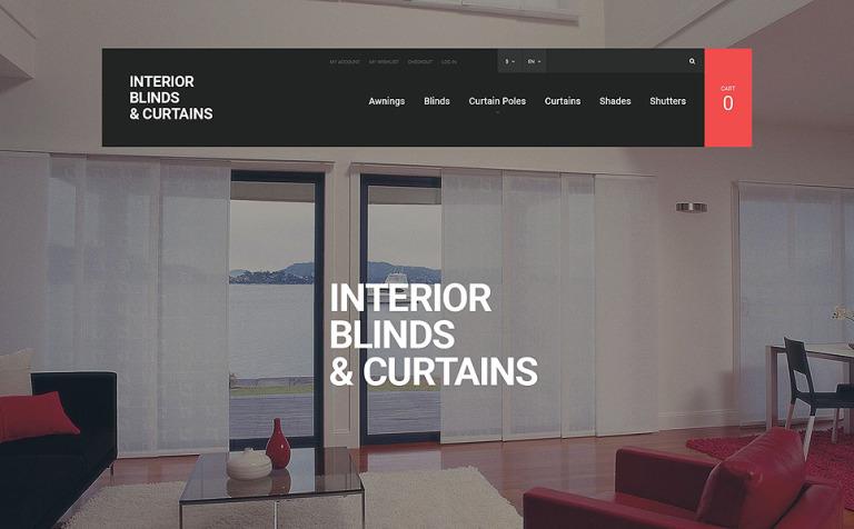 Window Panels Magento Theme
