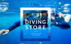 "WooCommerce Theme namens ""Diving"" New Screenshots BIG"