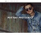 Art & Photography Moto CMS 3  Template 55509