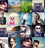 Art & Photography Photo Gallery  Template 55525