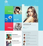 Art & Photography Photo Gallery  Template 55529