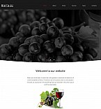Food & Drink Moto CMS 3  Template 55541