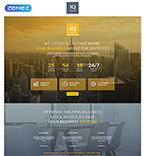 Landing Page  Template 55542