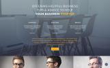 Responsive IQ - Consulting Modern HTML Açılış Sayfası Şablonu
