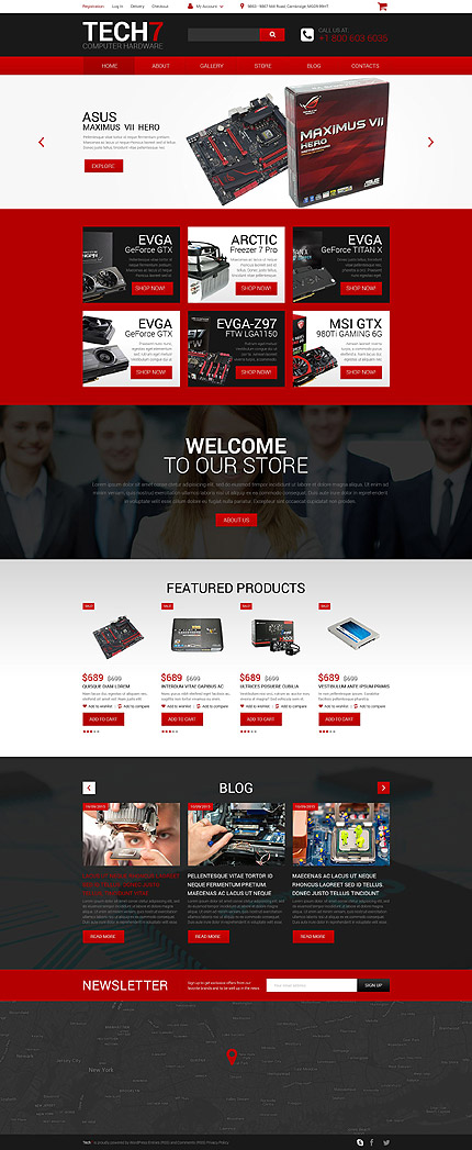 ADOBE Photoshop Template 55543 Home Page Screenshot