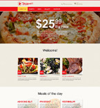 Cafe & Restaurant Muse  Template 55546
