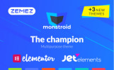 Responsivt Monstroid WordPress-tema