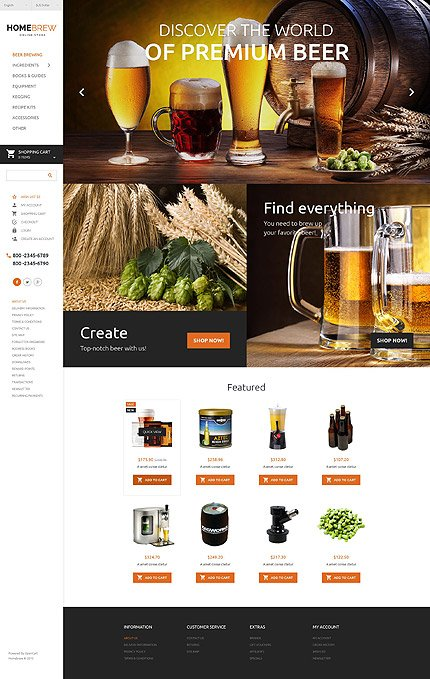 ADOBE Photoshop Template 55559 Home Page Screenshot