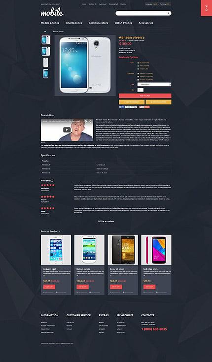 ADOBE Photoshop Template 55560 Home Page Screenshot
