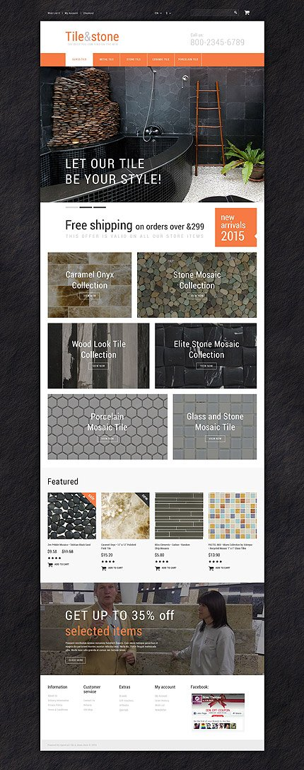 ADOBE Photoshop Template 55561 Home Page Screenshot
