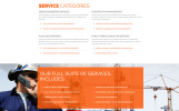 Responsivt Steel & Fabrication Industry - Steelworks Clean Responsive HTML Hemsidemall