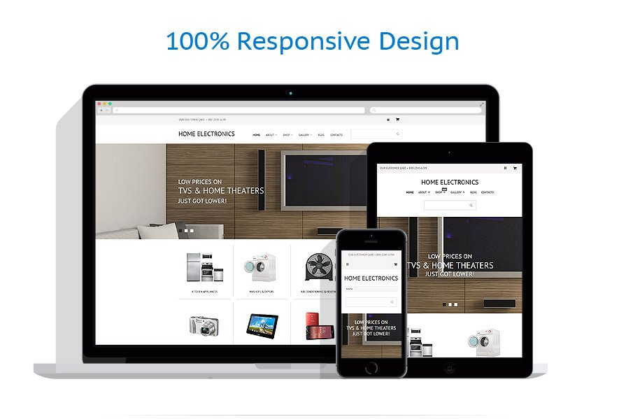 WooCommerce Themes Electronique #55574